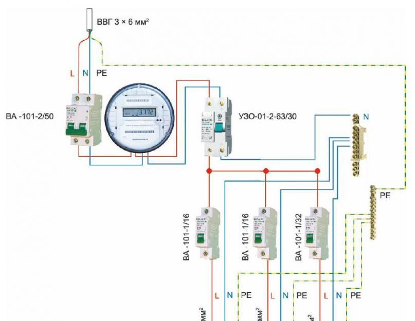 Квартире может быть установлен персональный щит электричество в загородном доме кто провел опыты по определению давления света лебедев или столетов